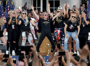 U.S. Women's Soccer Team, Ticker Tape Parade