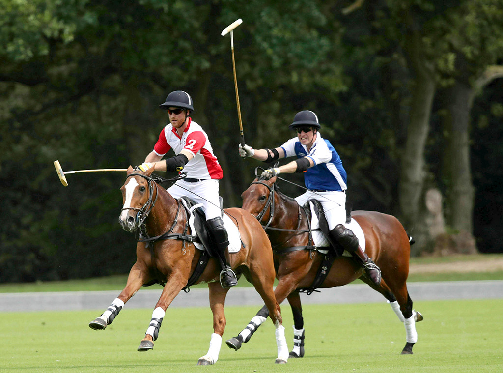 Prince William, Prince Harry, The King Power Royal Charity Polo Day