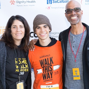 Libby Boyce, Actor Cameron Boyce, and Victor Boyce