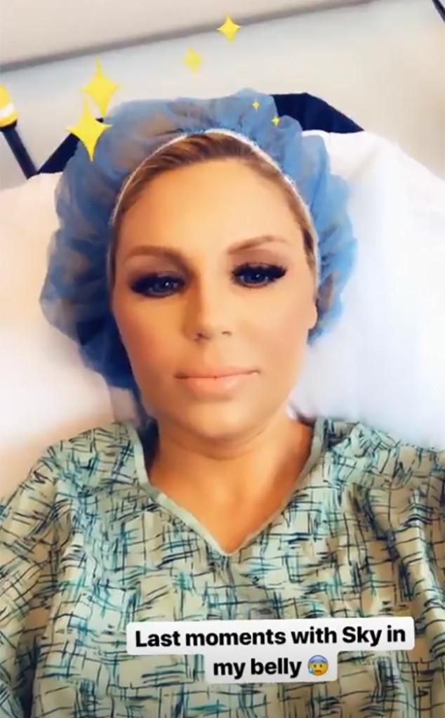 Gretchen Rossi, Pregnant, Hospital, Birth, Instagram