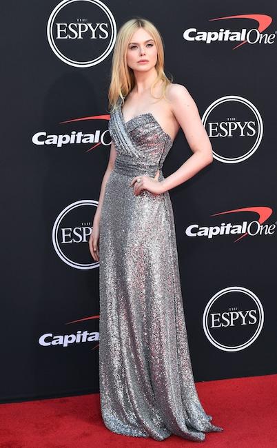 Elle Fanning, The ESPYS, Red Carpet Fashion