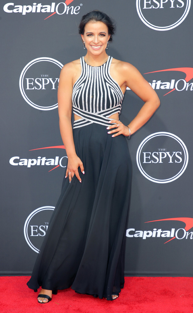 Victoria Arlen, The ESPYS, Red Carpet Fashion