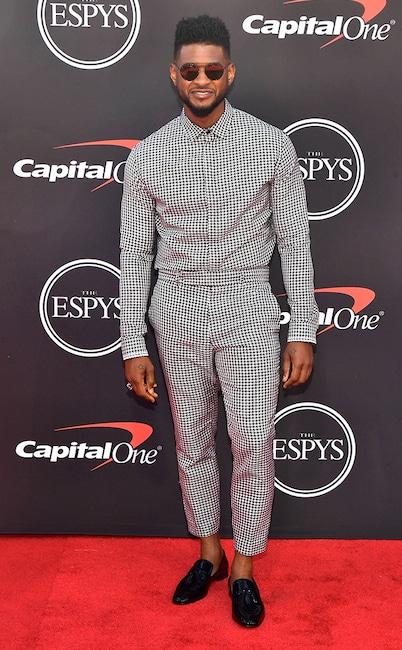 Usher, The ESPYS, Red Carpet Fashion