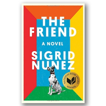 E-comm: Book Covers - The Friend: A Novel