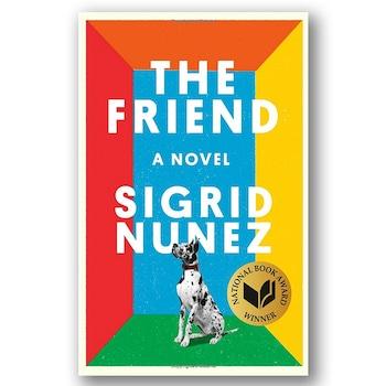 E-comm: Book Covers - The Friend: A Novel