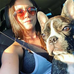 Jenelle Evans, Dog, Nugget, Instagram