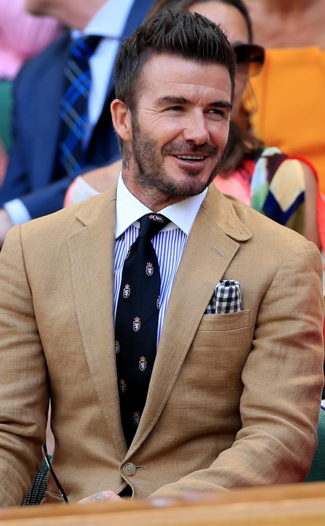 David Beckham, Wimbledon Tennis Championships 2019