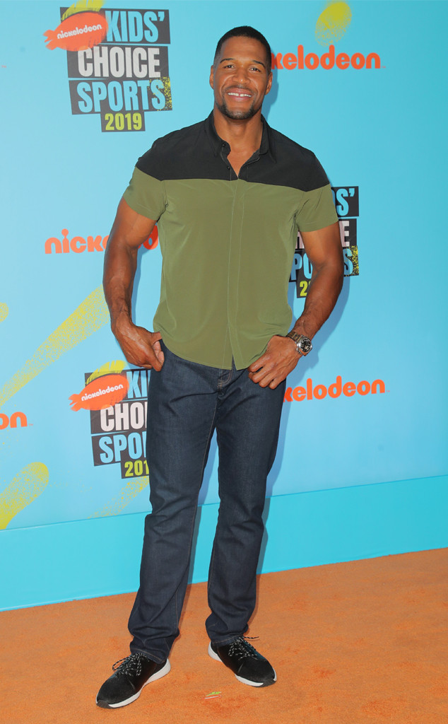 Michael Strahan, Kids' Choice Sports 2019