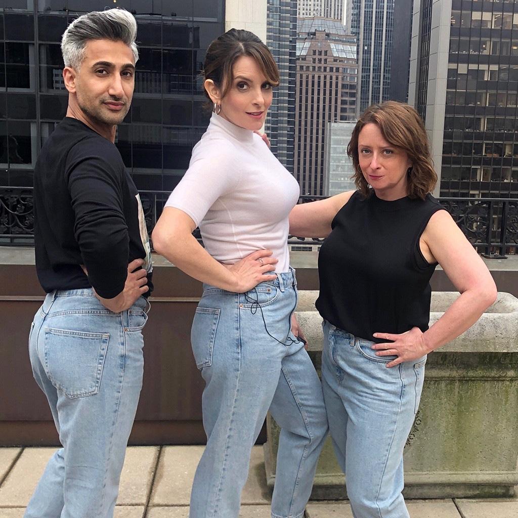 Tan France, Tina Fey, Rachel Dratch
