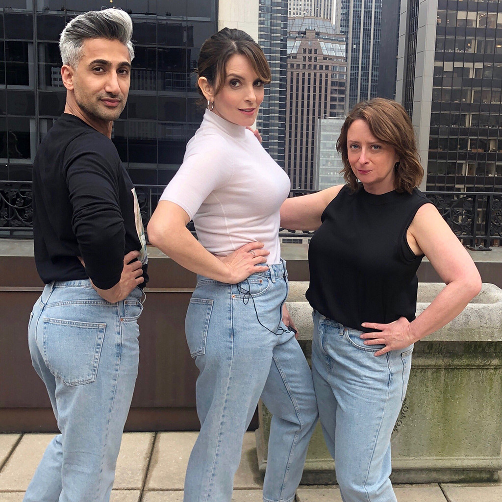Tan France, Tina Fey, Rachel Dratch