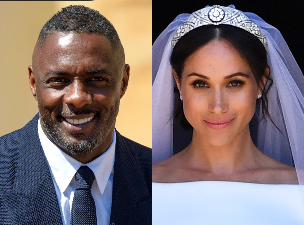 Meghan Markle Sent DJ Idris Elba a Playlist for the Royal