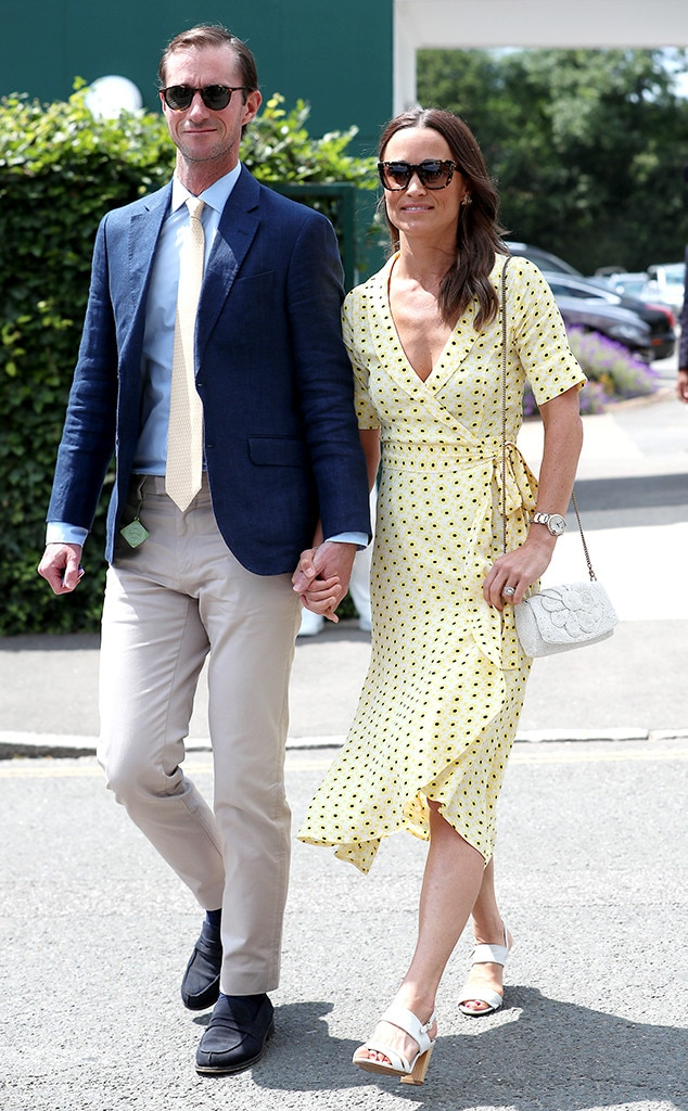 Pippa Middleton Is a Ray of Sunshine With Husband James at