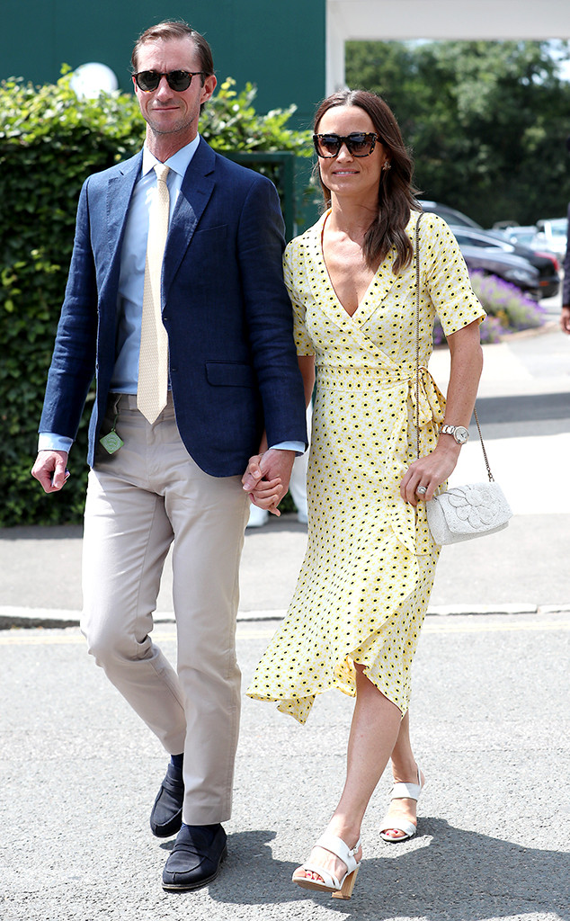 027276236 Pippa Middleton Is a Ray of Sunshine Alongside James Matthews at ...