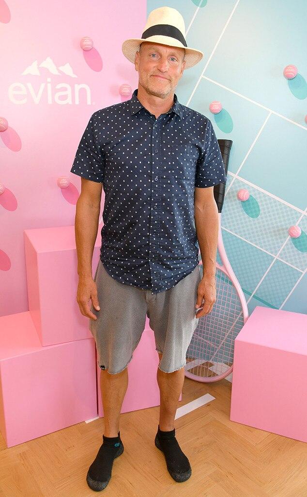 Woody Harrelson, Wimbledon star sightings