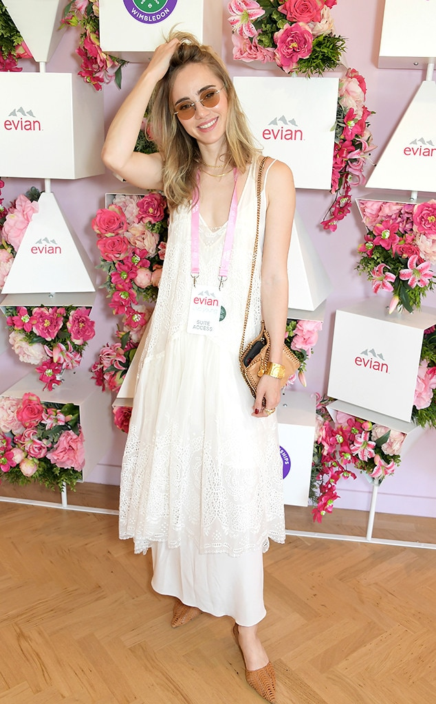 Suki Waterhouse Wimbledon star sightings