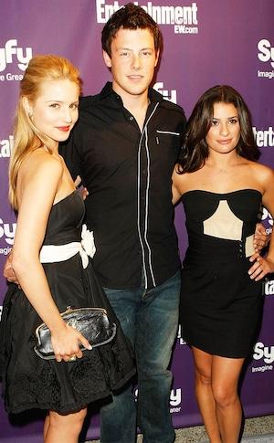 Dianna Agron, Cory Monteith, Lea Michele, Comic-Con 2009