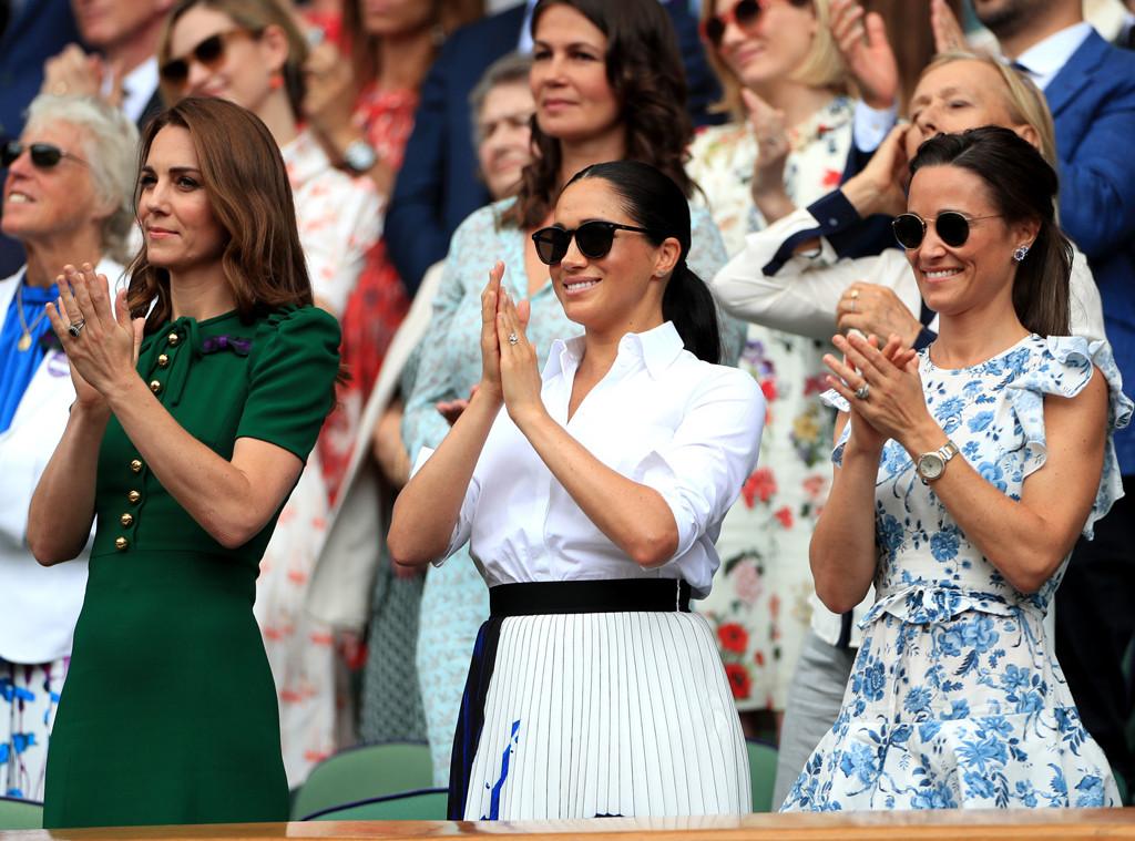 Kate Middleton, Meghan Markle, Pippa Matthews, 2019 Wimbledon