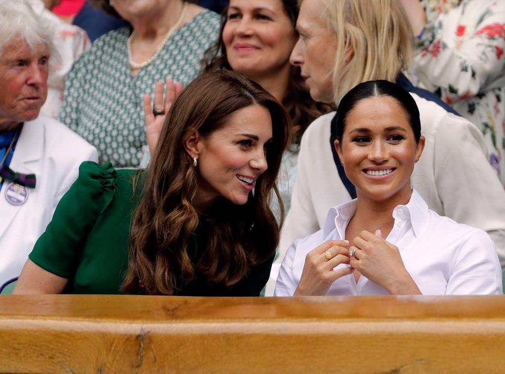 Kate Middleton, Meghan Markle, 2019 Wimbledon