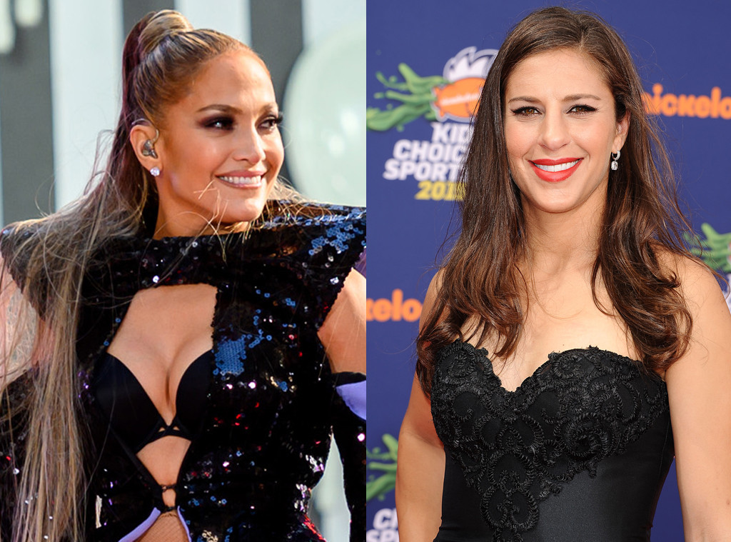 Carli Lloyd, Jennifer Lopez