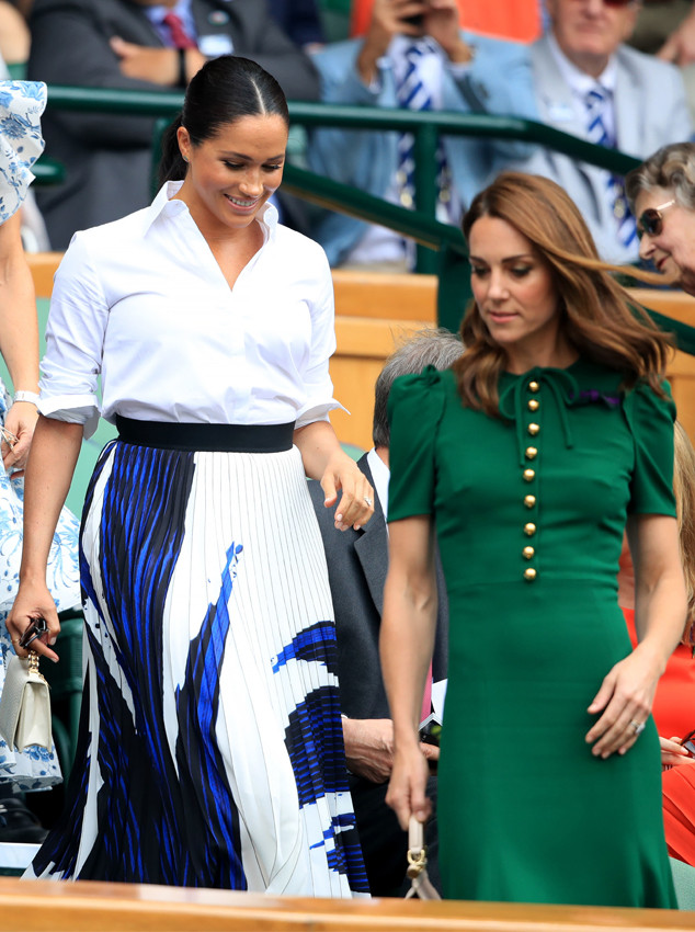 dfa60ea3 Just Some Pictures, Please: Inside Meghan Markle and Kate Middleton's  Different Approaches to Privacy   E! News
