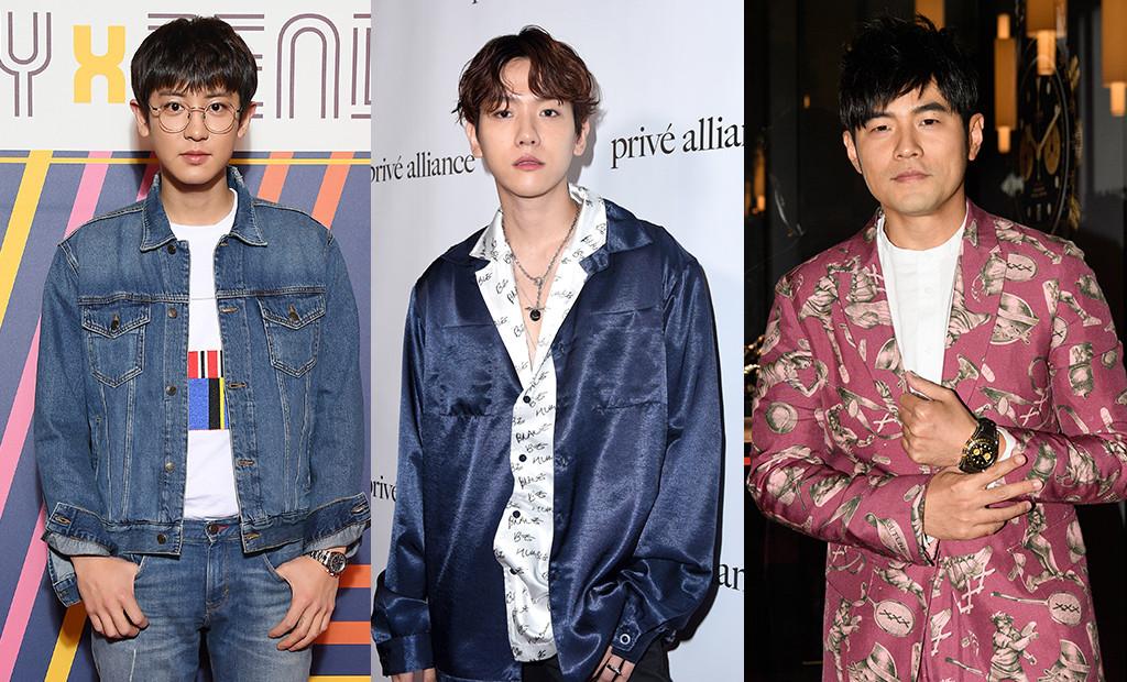 EXO, Baekhyun, Chanyeol, Jay Chou