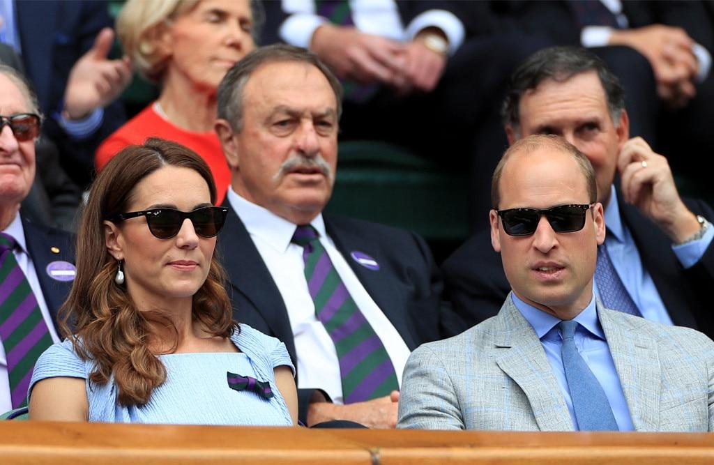 Kate Middleton, Prince William, 2019 Wimbledon