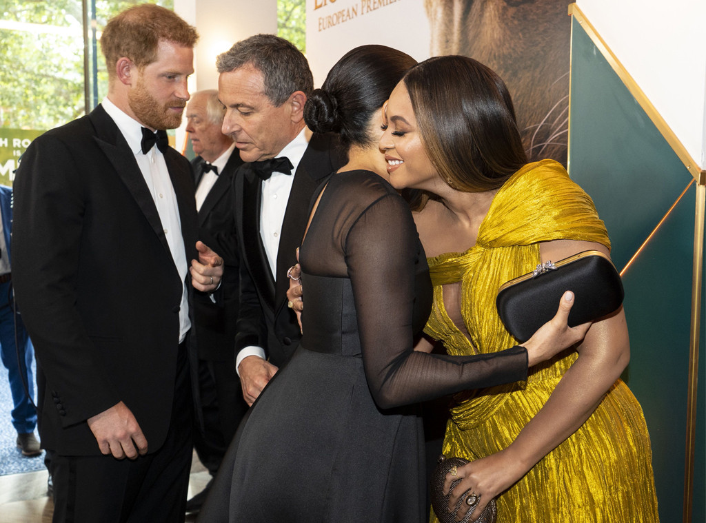 The Lion King London Premiere, Prince Harry, Meghan Markle, Duchess of Sussex, Beyonce, Jay-Z