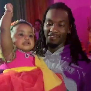 Cardi B, Offset, Daughter, Kulture, 1st Birthday Party, Instagram