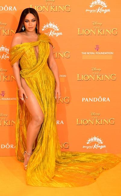 Beyonce, The Lion King London Premiere