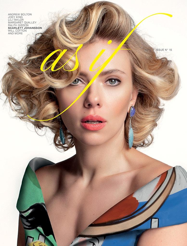 Scarlett Johansson, AS IF Magazine, Cover