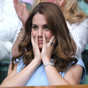 Kate Middleton, Wimbledon Tennis Championships 2019, Facial Expressions at Wimbledon