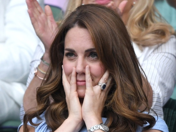 Kate Middleton's Many Facial Expressions Are the True Winners of Wimbledon