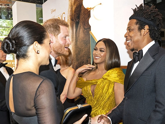 The Parenting Advice Jay-Z Gave Prince Harry and Meghan Markle at <i>The Lion King</i> Premiere