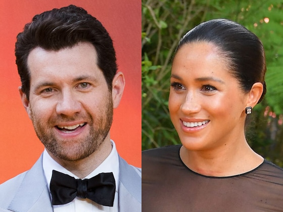 You'll Never Guess What Meghan Markle and Billy Eichner Bonded Over at <i>The Lion King</i> Premiere