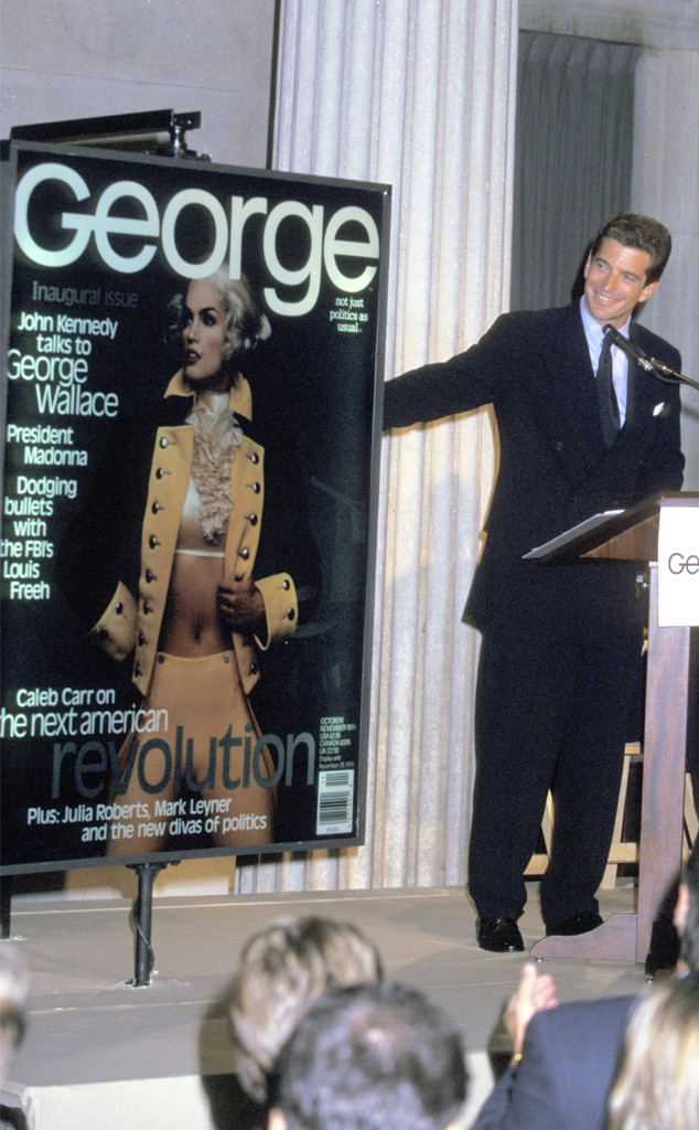 John Kennedy Jr., George Magazine