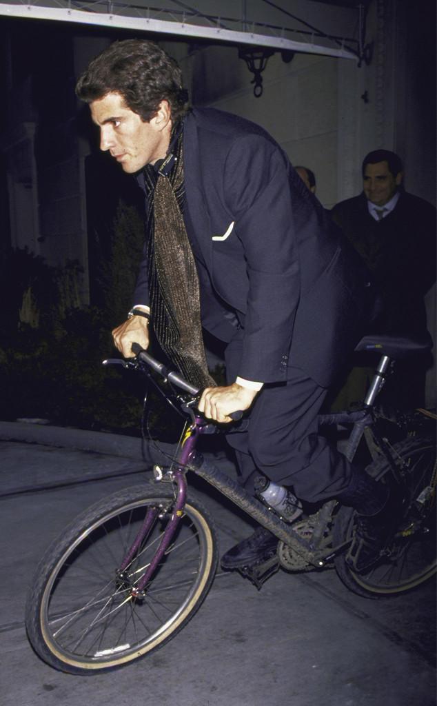 John Kennedy Jr., bike