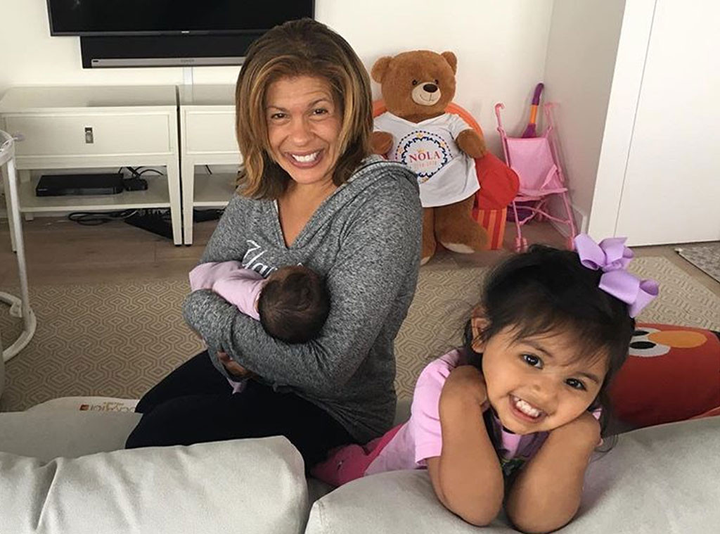 Hoda Kotb, Kids, Haley Joy, Hope Catherine, First Photo of Hope