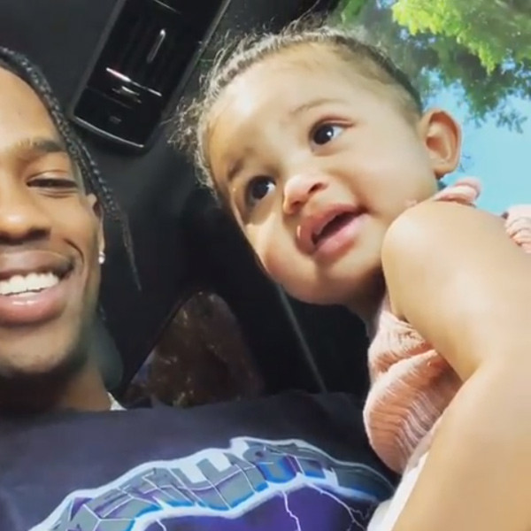 Stormi Webster Shows Off Her Adorable Dance Moves to Dad Travis Scott's Music
