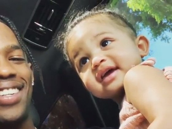 Travis Scott's Rare Video With Stormi Webster Will Leave You Smiling All Day Long