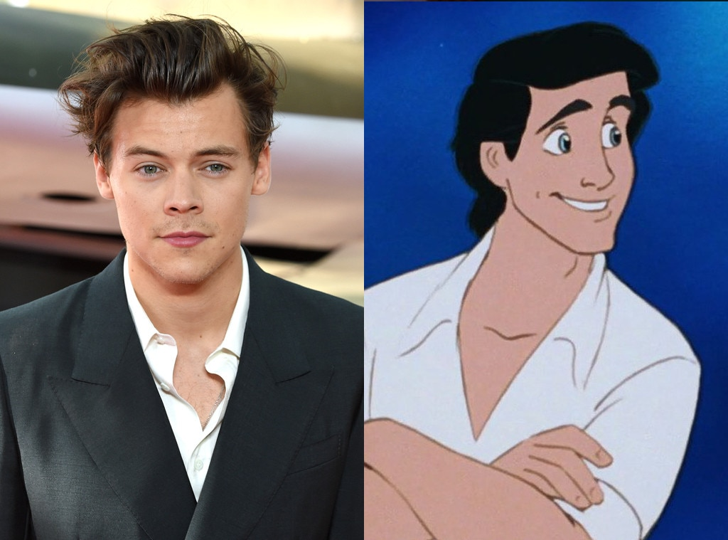 Harry Styles' 'The Little Mermaid' Casting As Prince Eric-*Swoon