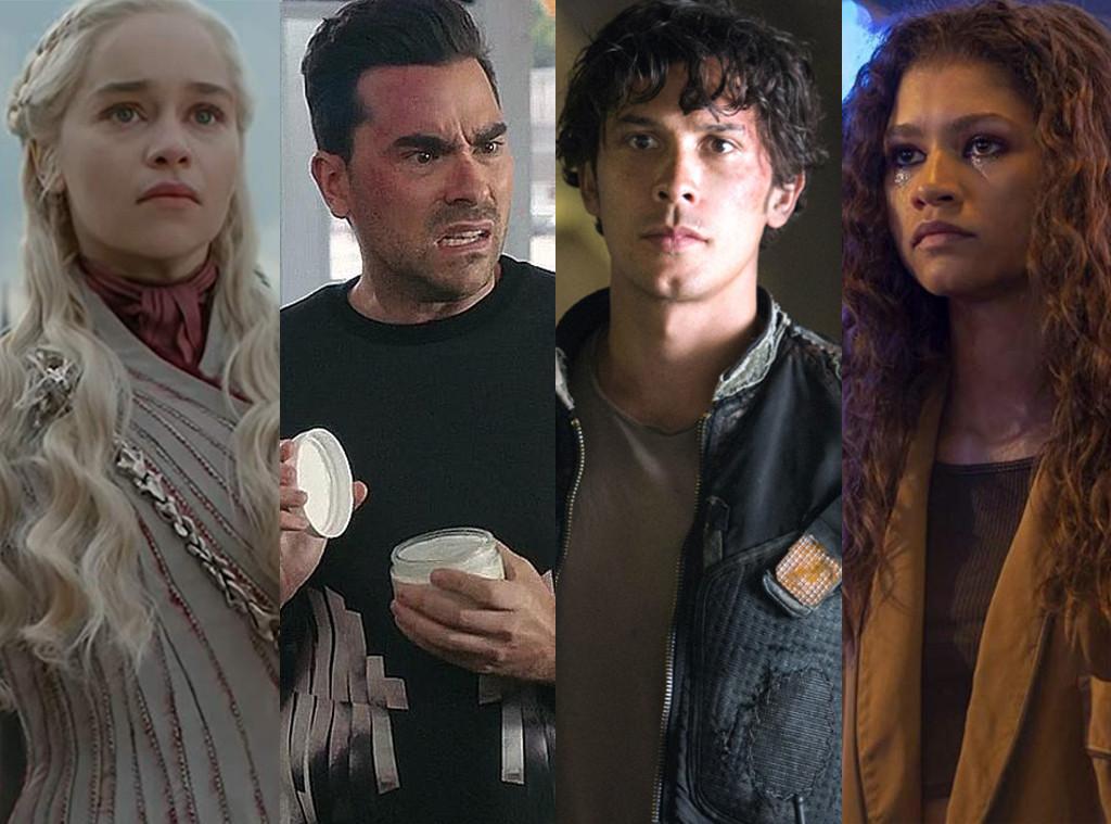 Emilia Clarke, Game of Thrones, Dan Levy, Schitt's Creek, Bob Morley, The 100, Zendaya, Euphoria