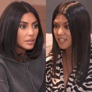 Kourtney Kardashian, Kim Kardashian