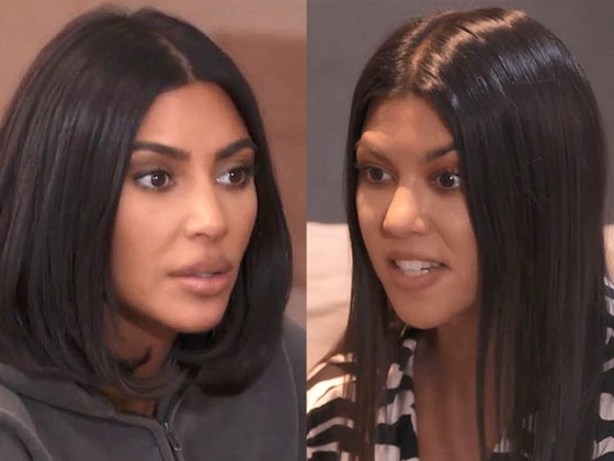 See Kim & Kourtney Kardashian Get in a Major Fight Over North & Penelope's Birthday Party