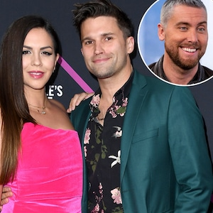 Tom Schwartz, Katie Maloney, Lance Bass