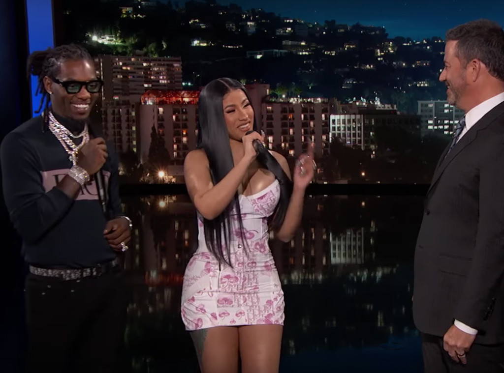 Watch Jimmy Kimmel Break Down These Rap Lyrics With Cardi B And