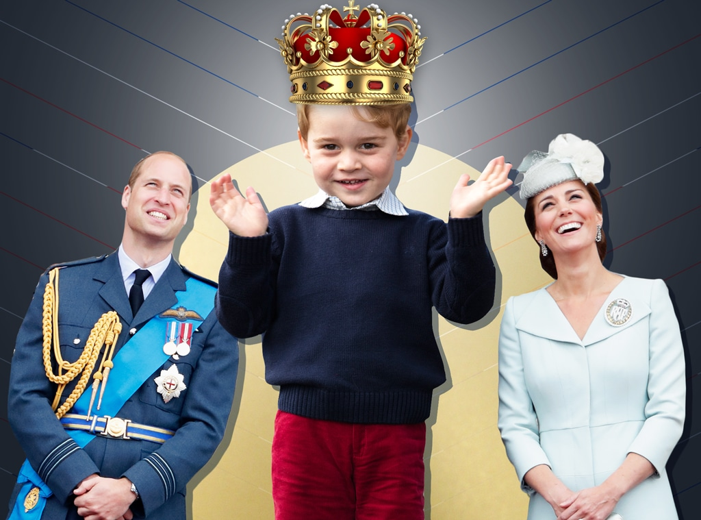 How Prince George Is Really Getting Ready to Be King - E! Online