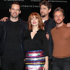 San Diego Comic-Con 2019 - Andy Bean, Isaiah Mustafa, James Ransone, Bill Hader, Jessica Chastain, Andy Muschietti, Director, James McA
