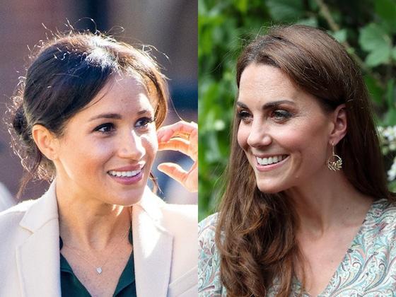 El gesto que demuestra que Meghan Markle y Kate Middleton se llevan de maravilla
