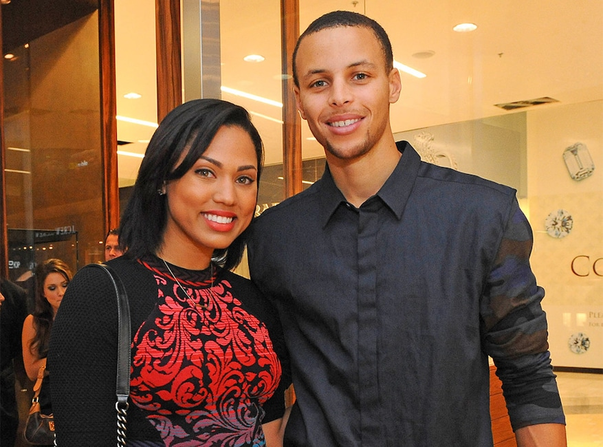 Ayesha Curry, Stephen Curry