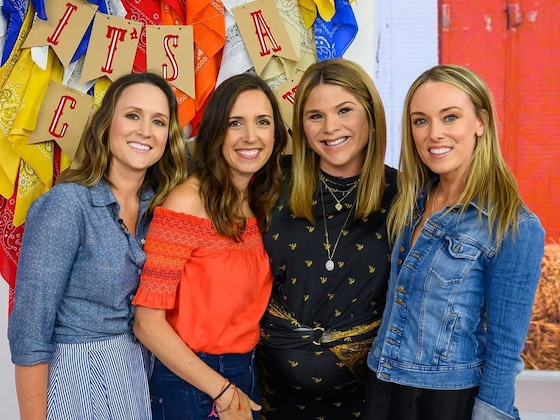 <i>Today</i>'s Jenna Bush Hager Is Speechless After Receiving Cowboy-Themed Baby Shower